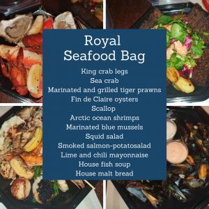 Merimakasiini Seafood Bag